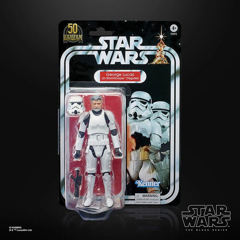 George Lucas action figure