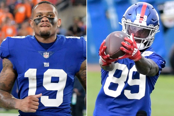 Wide receiver blowups causing Giants early headaches