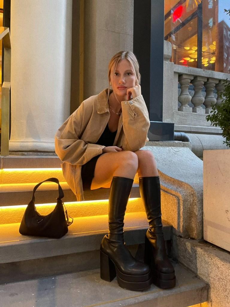 TikTok fashion influencer Kennedy Eurich.