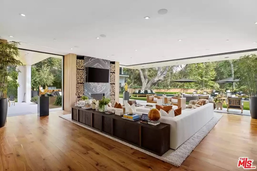 A family room is pictured.