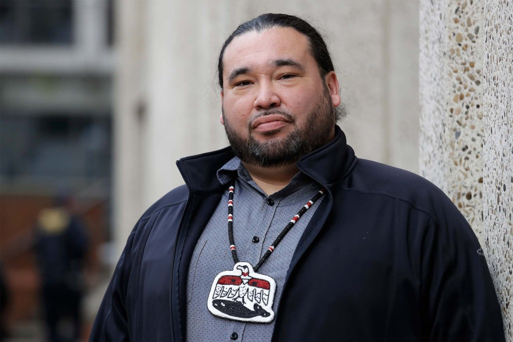 Patrick DePoe, the Vice-Chairman of the Makah Tribe, spoke on the importance of the hunt to his culture.