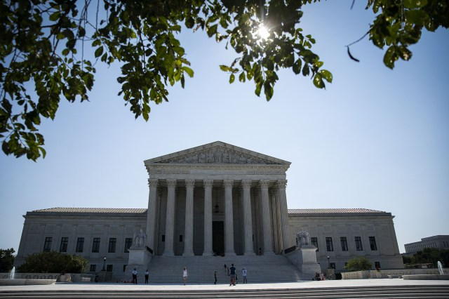 A rep for the Supreme Court said that they did act on an emergency request by a pro-life group.