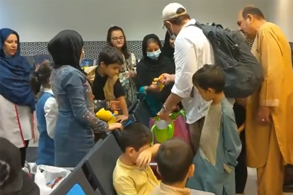 Project Dynamo evacuated 117 Americans and green holders from Afghanistan to the United Arab Emirates.