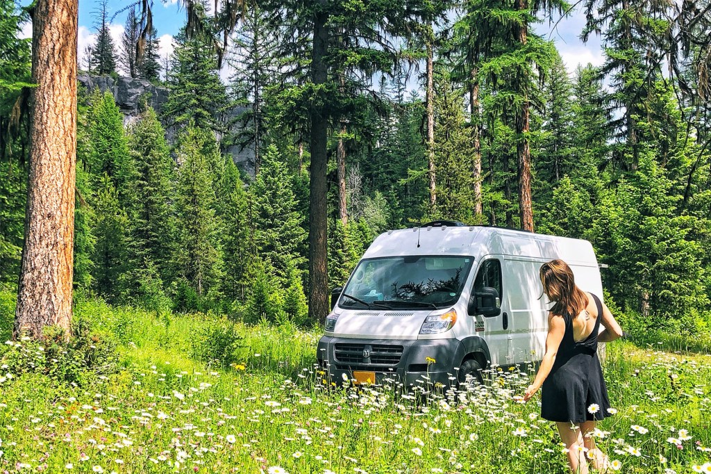 """Amber, author of Always the Adventure, calls van life """"tough,"""" but """"worth it."""""""