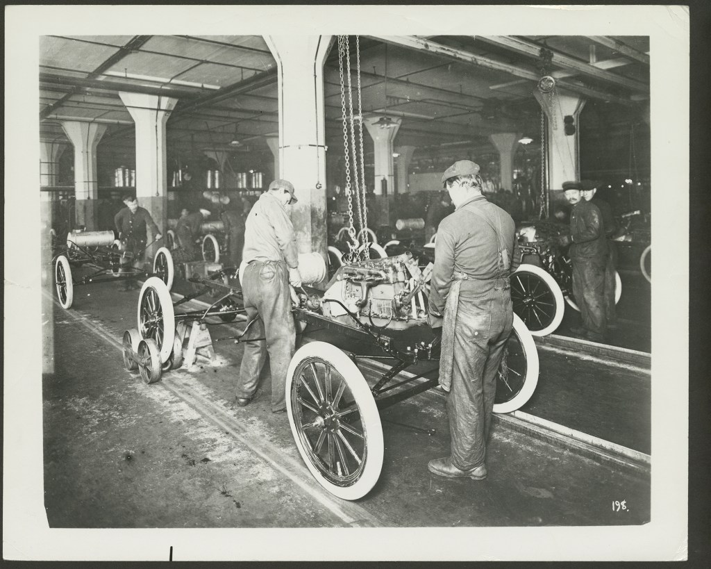 Ford Motor Company Assembly Plant in Shadyside/Bloomfield.