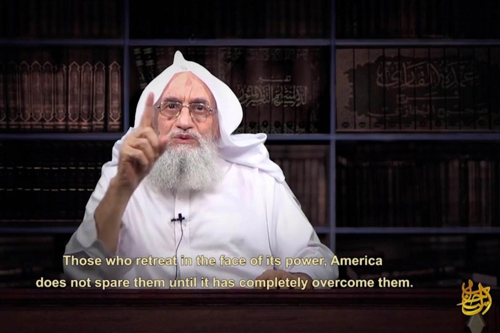 Zawahiri took over Al Qaeda after Navy SEALs killed Osama bin Laden.