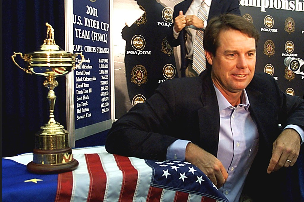 Paul Azinger at the 2001 Ryder Cup.