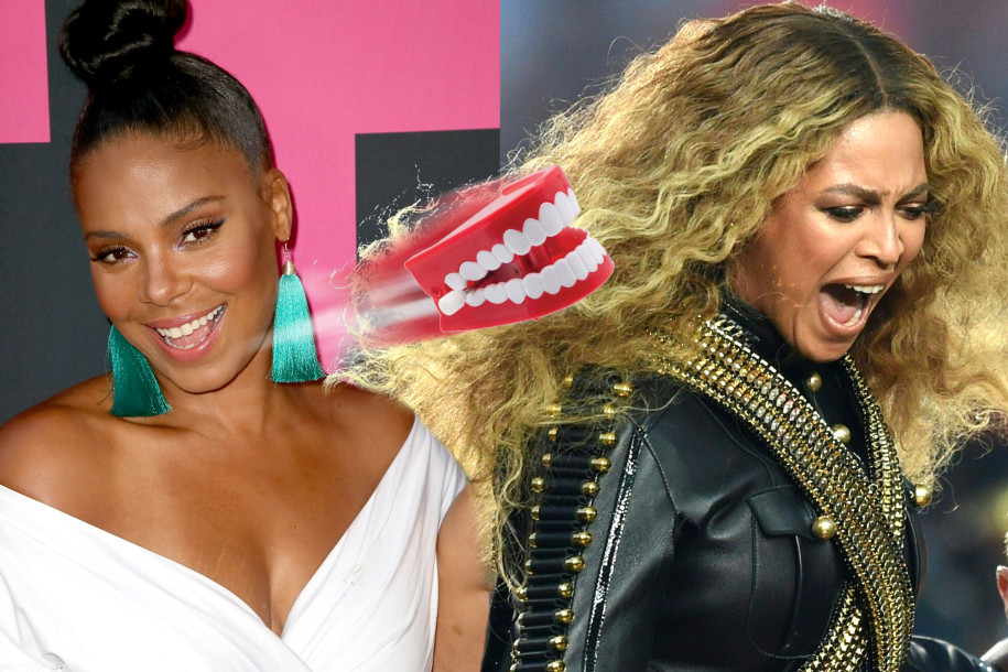 Sanaa Lathan has denied biting and Beyoncé — and both sides are reportedly on terms with the family.