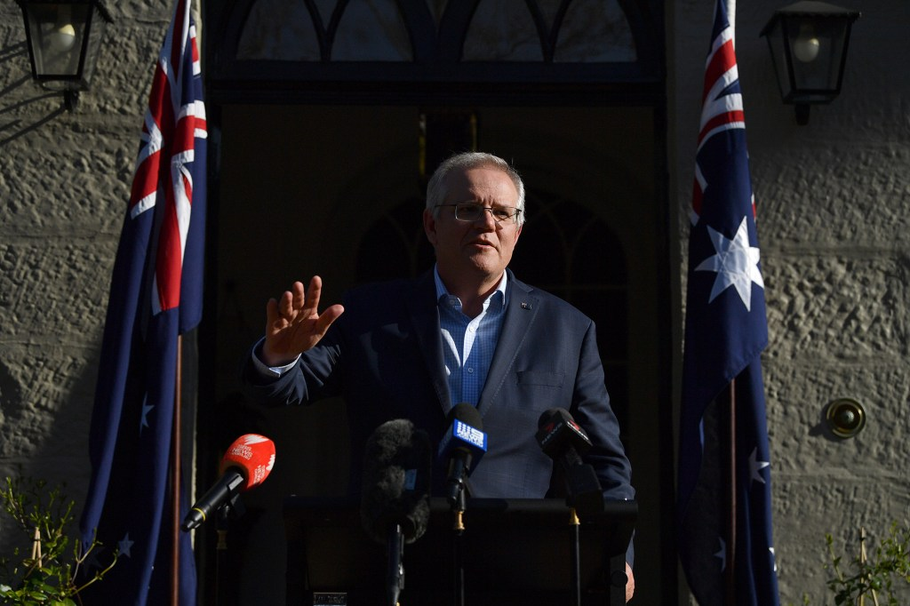 Australian PM Scott Morrison