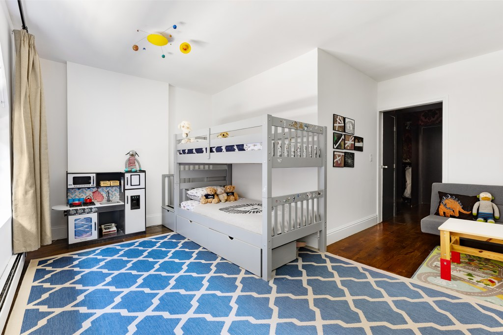 One of two bedrooms.