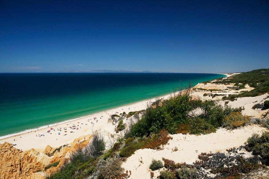 The Atlantic coast, near Melides.