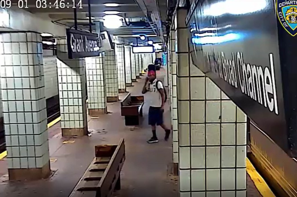 The New York City Police Department is asking for the public's assistance in identifying the individual depicted in the attached video and photos in connection to an assault of an on-duty MTA employee that occurred within the confines of the 75 Precinct/Transit District 33.