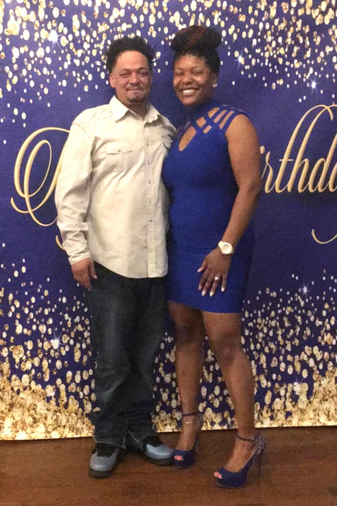 Marco Mosquera with his wife Daisy Mosquera.