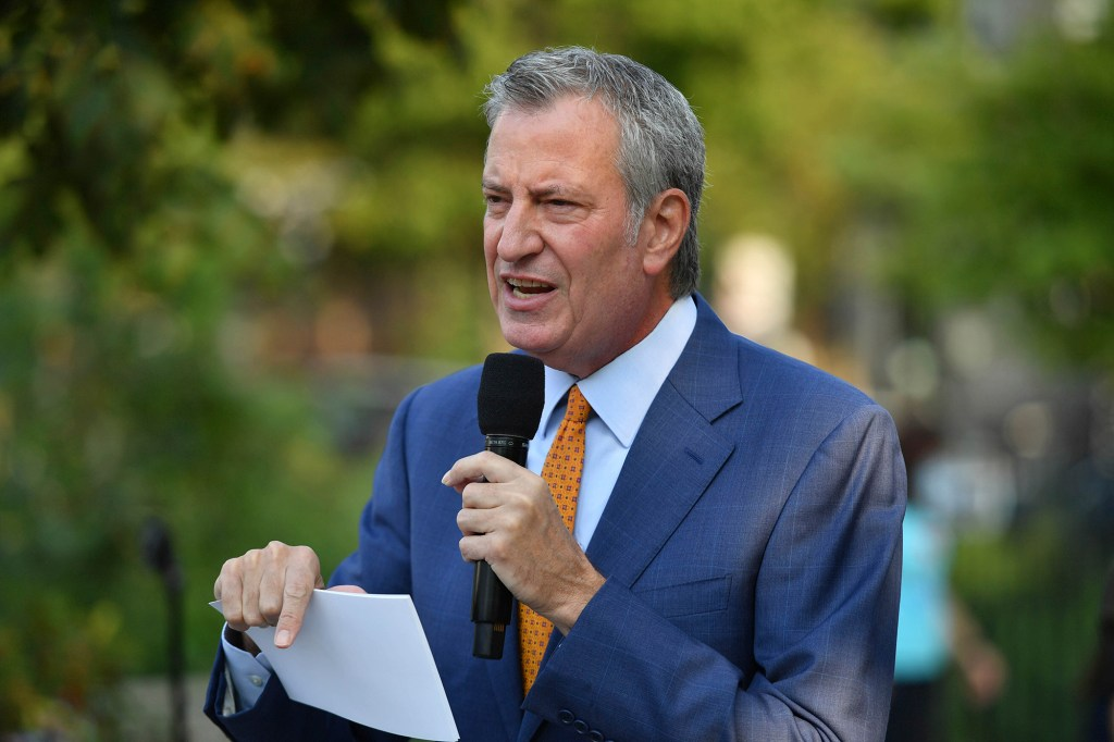 Sliwa also suspects that the ban may have come at the request of Mayor Bill de Blasio.