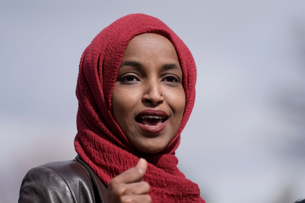 Rep. Ilhan Omar and other progressives are determined to stick with the entire Build Back Better bill.