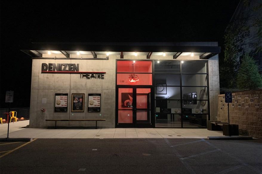 An exterior shot of the Denizen Theatre.