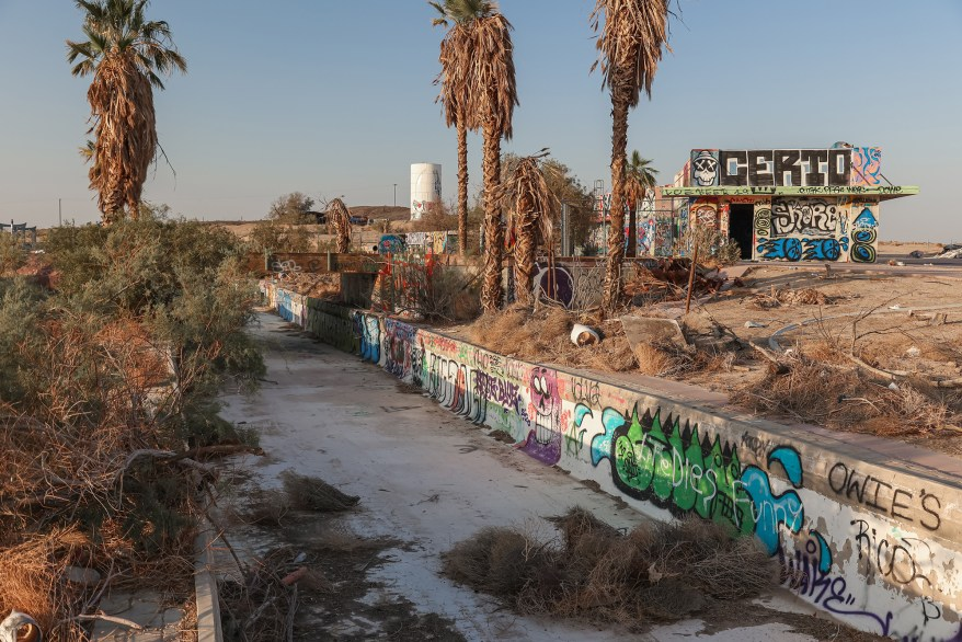 """""""It [could] become some fancy development like the owner is hoping for with listing it for sale, or eventually [could] just revert to massive lot of sand like much of the other parcels out here,"""" said Shaun."""