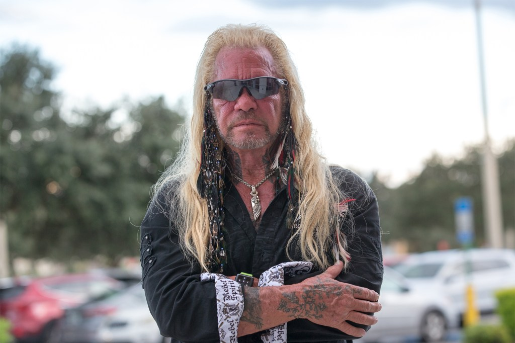 """""""Dog the Bounty Hunter"""" in North Port, Florida where he has begun searching for Laundrie."""