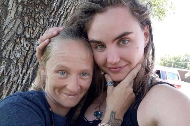 Crystal Turner, 38, and Kylen Schulte, 24