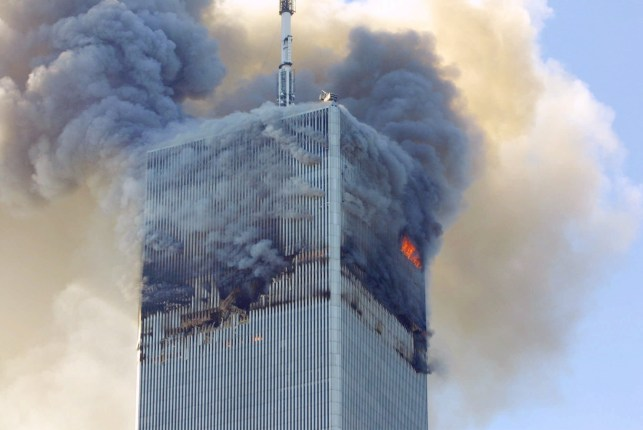 File - File photo of this Tuesday, September 11, 2001, following fire and smoke bills from the North Tower of the World Trade Center in New York when terrorists hijacked two hijacked planes and ransacked the 110-story towers. Dropped off  A bill passed by Congress has allowed the families of 9/11 victims to sue the Saudi government, giving some in the Arab world a long-term view that despite decades of controversial US intervention. The United States only demands justice for its victims of terrorism.  Around the world.