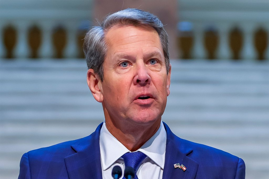 Gov. Brian Kemp of Georgia is one of a handful of GOP governors to seek legal action over President Biden's vaccine mandate.