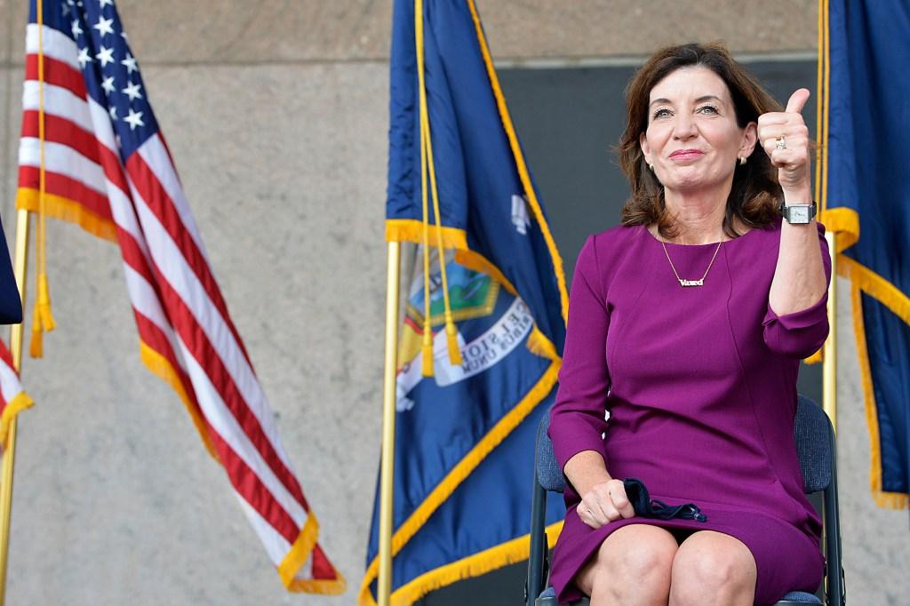 New NY Governor Kathy Hochul