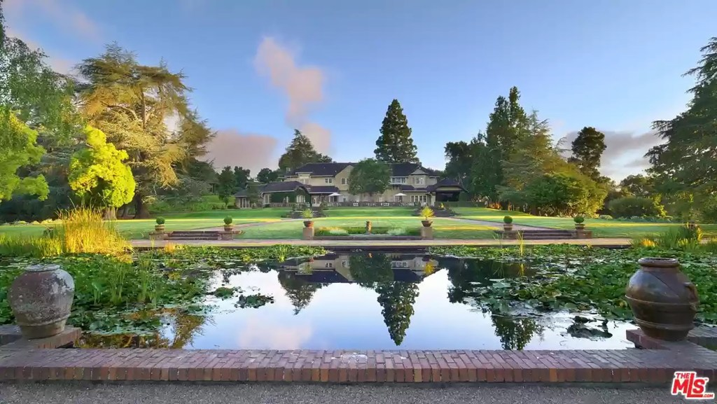 The entire estate encompasses a whopping 74 acres.