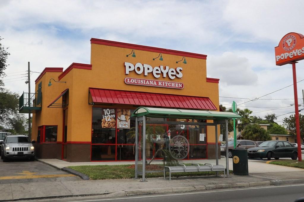 Popeye's restaurant.