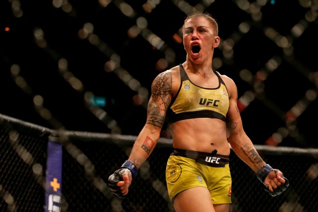 UFC star Jessica Andrews made cash with just her fan photos.