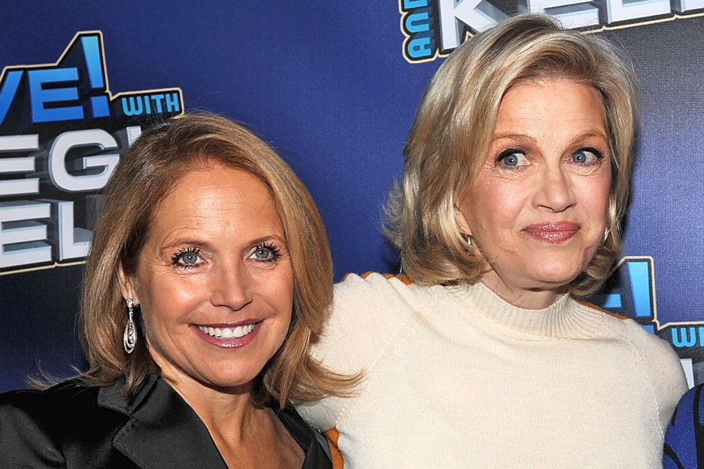 """Katie Couric wrote Diane Sawyer was everything she wasn't — tall, blonde, with a voice """"full of money."""""""
