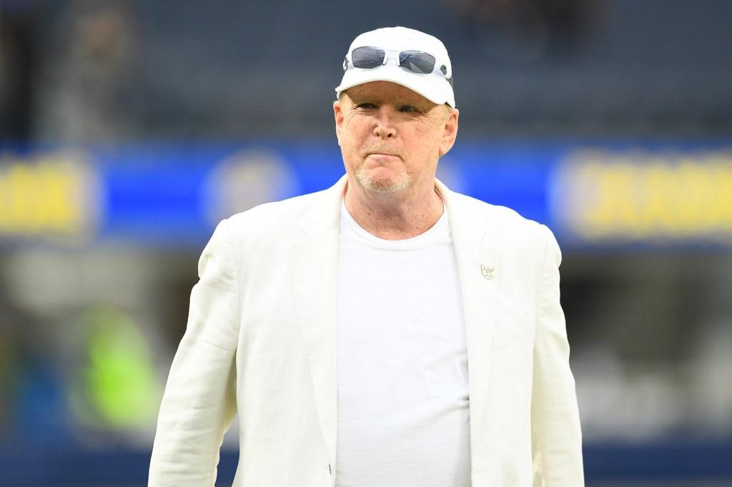 Mark Davis, 66, inherited the NFL team in 2011 from his father Al Davis.