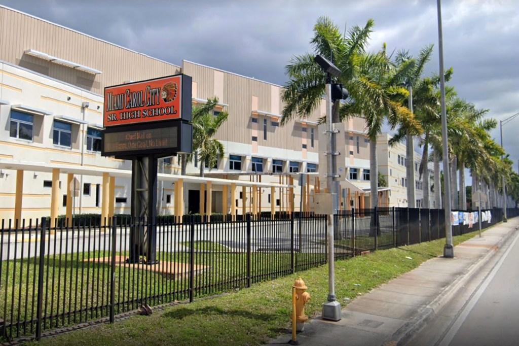 Miami Carol City Senior High School.