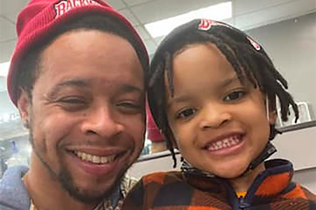Michael Moltry Jr. was shot dead while visiting his father in Chicago.