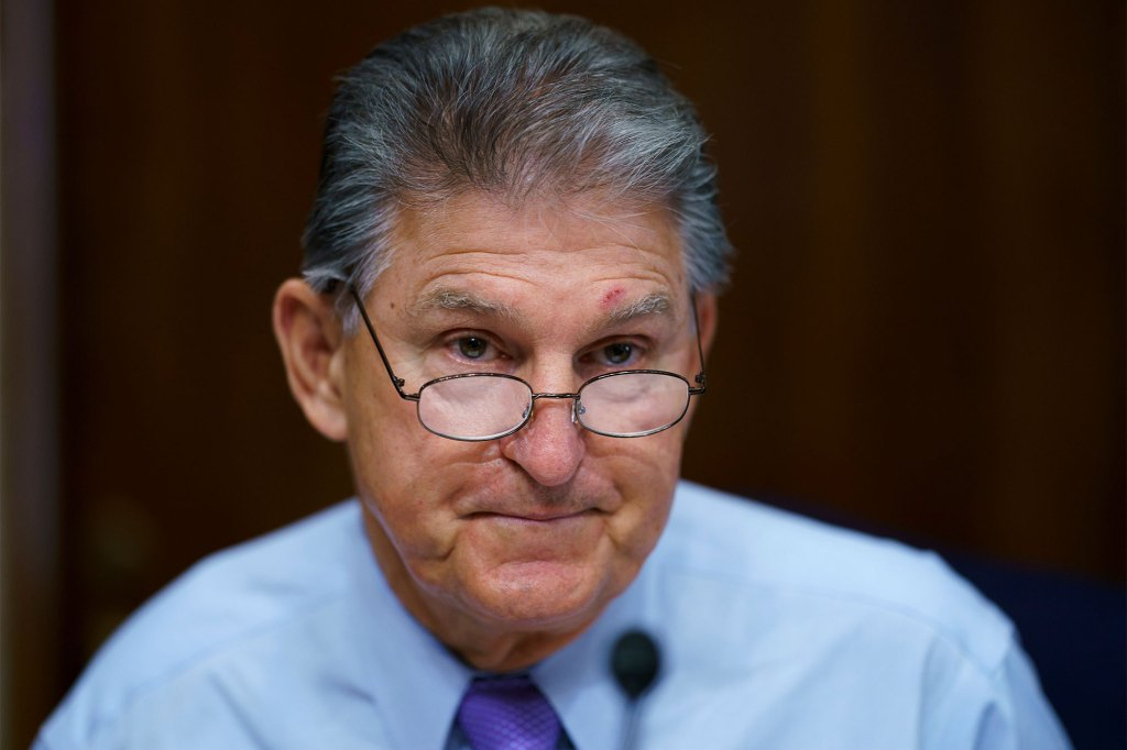 Sen. Joe Manchin of West Virginia remained adamant about not passing a budget bill which would cost $3.5 trillion.