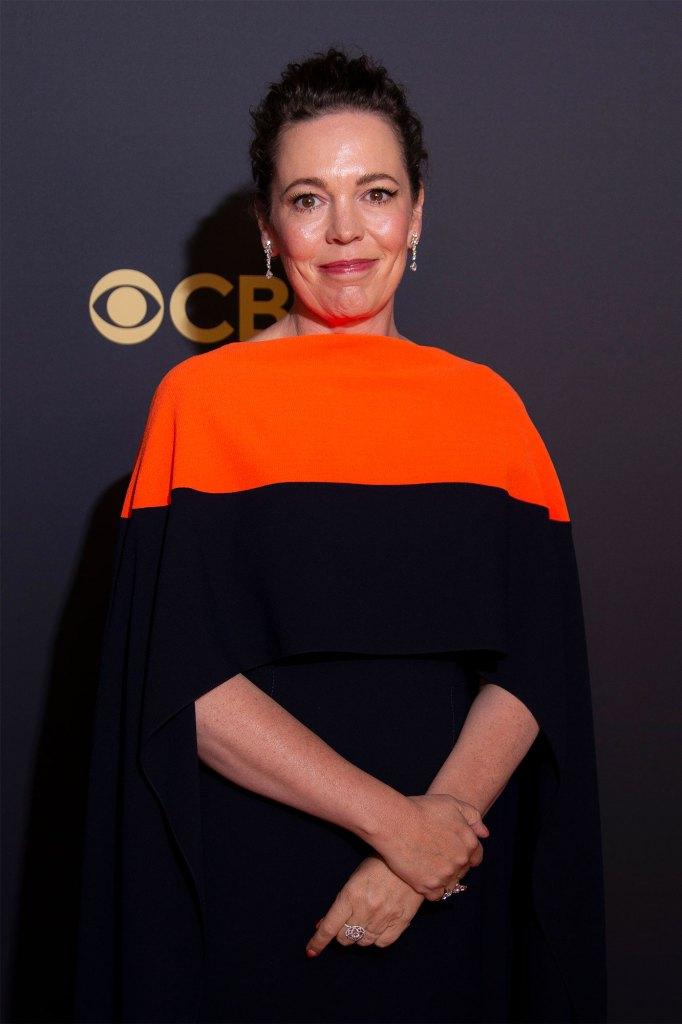 Olivia Colman at the 73rd Primetime Emmy Awards