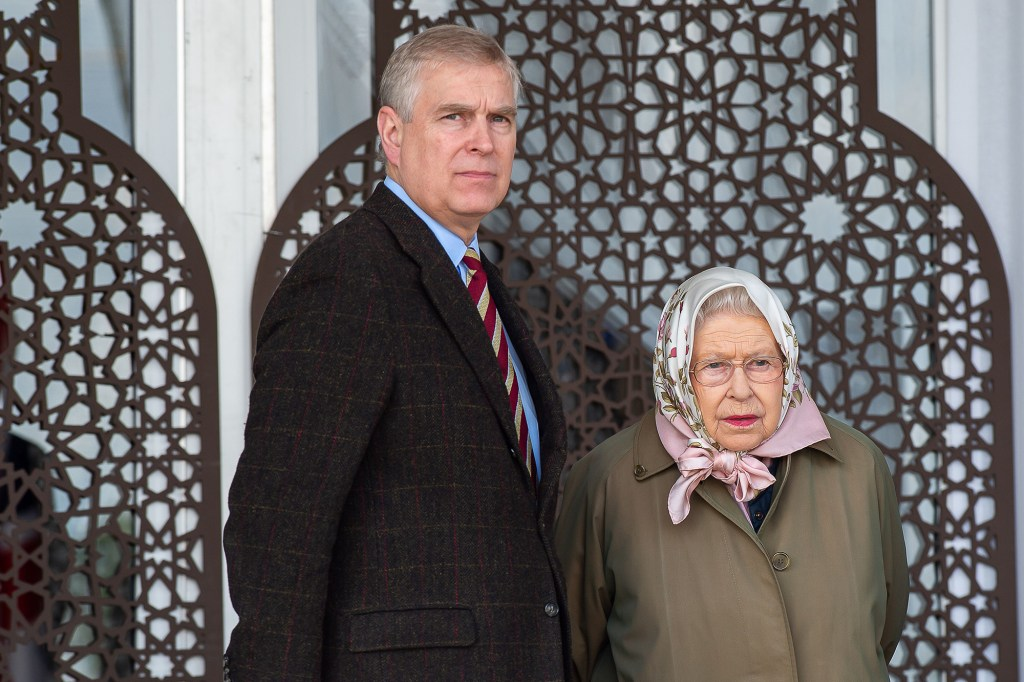 Prince Andrew (left) and his ex-wife have reportedly been hiding out with his mother, Queen Elizabeth II (right), in her Balmoral residence.