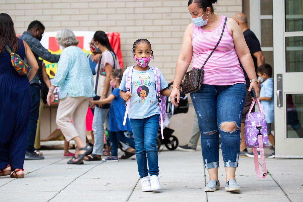 Students and staff at New York City public schools will be tested every week according to a new mandate set in motion by Mayor Bill De Blasio.