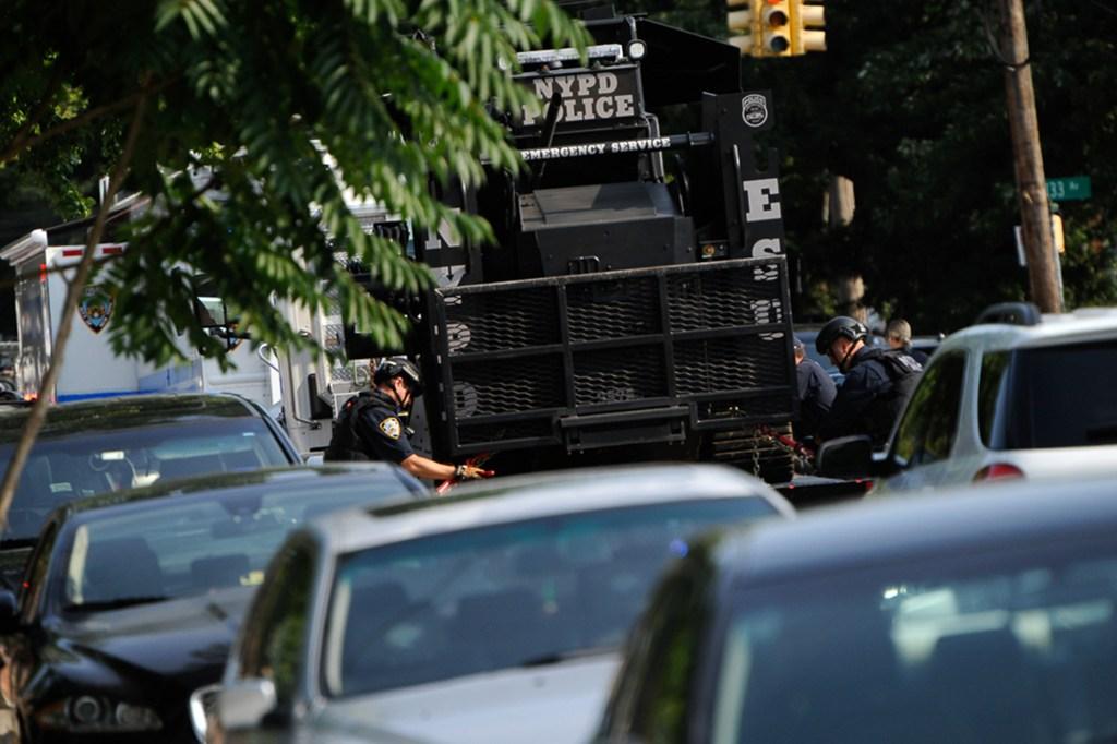 NYPD Bearcat.