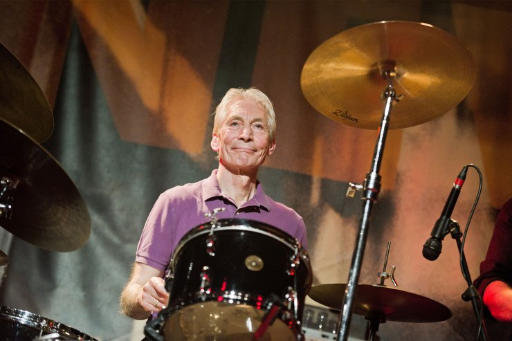 Rolling Stones logo to turn black in honor of late drummer Charlie Watts