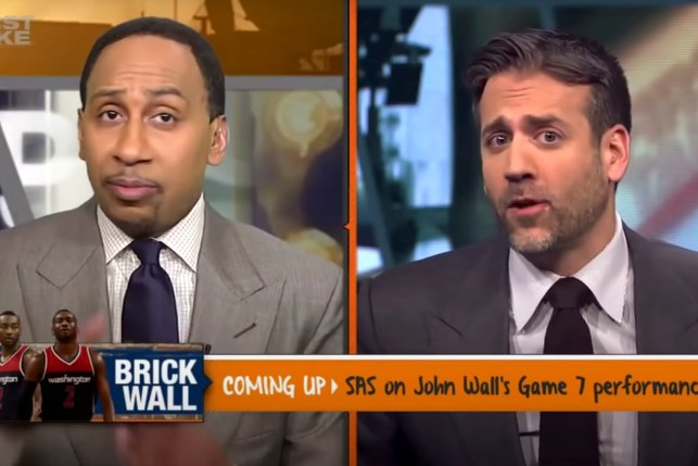 """Stephen A. Smith opened on the departure of Max Kellerman. """"Take first"""""""