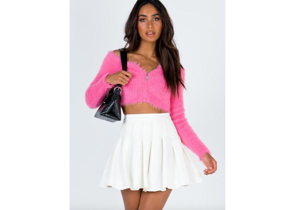 Lucid Mini Skirt