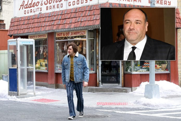 """Despite being deemed perfect for the role of the young Tony Soprano in """"Many Saints,"""" Michael Gandolfini says stepping into his father's shoes hasn't been easy."""
