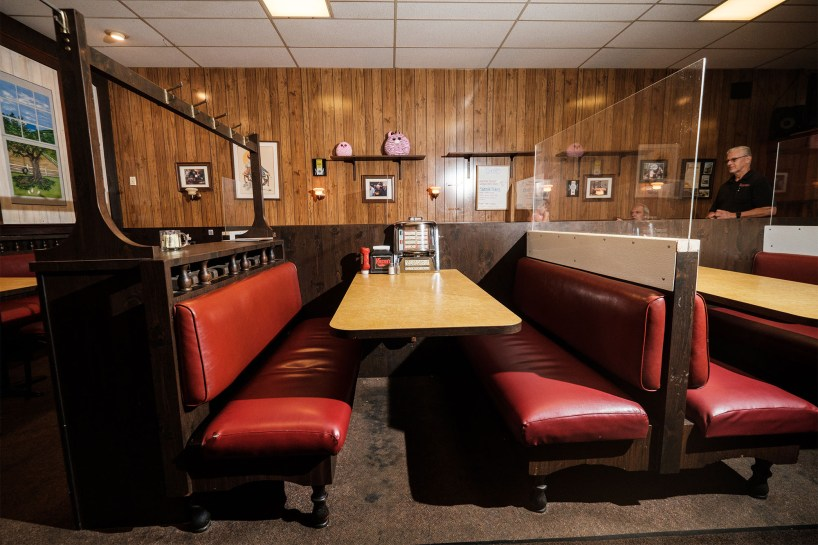 You can sit in the Tony Soprano booth in Holsten's and order onion rings for the table -- the best in the state according to Soprano.