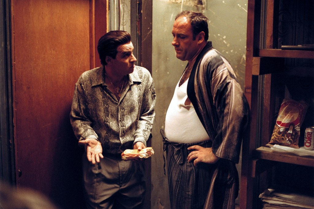 """There is a great deal of source material to go off when it comes to """"The Sopranos"""" ending."""