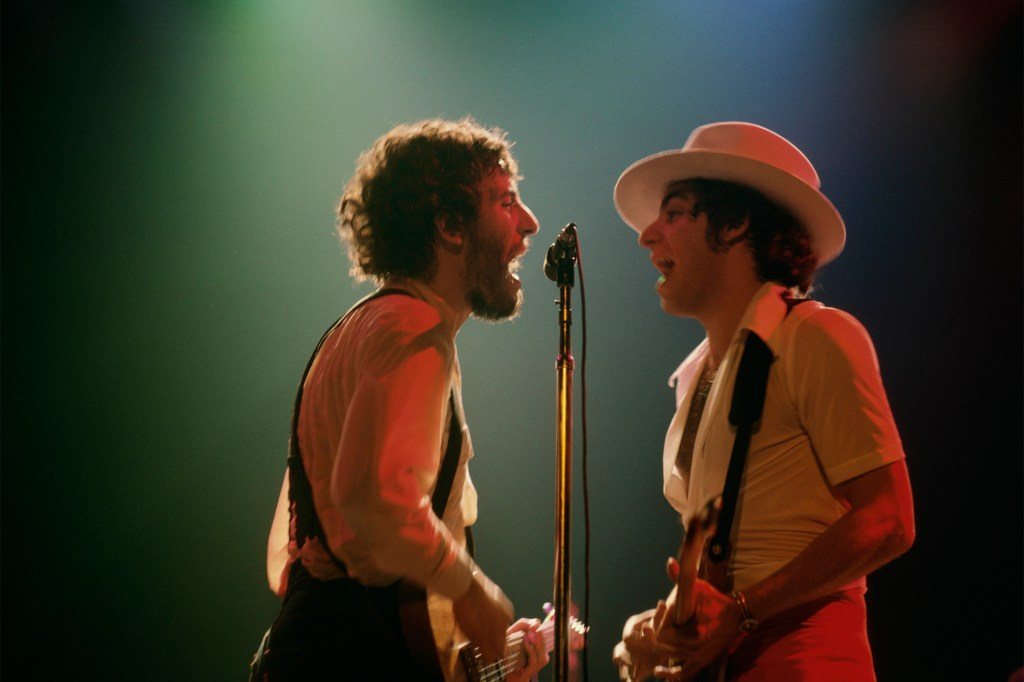 The duo performed together on stage during the Born To Run Tour in 1975.