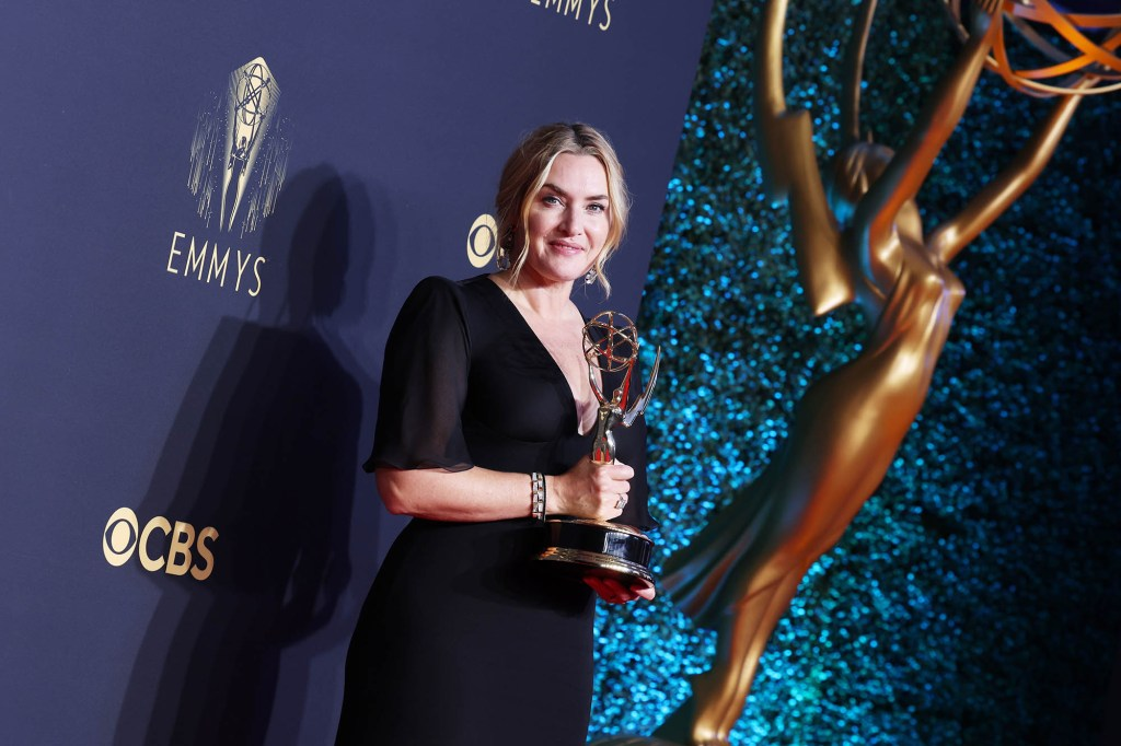 Kate Winslet, won Outstanding Lead Actress in a Limited or Anthology Series or Movie award for Mare Of Easttown.
