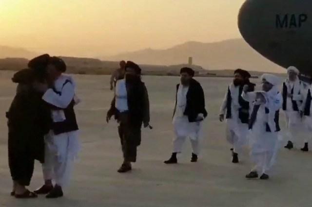 Mullah Abdul Ghani Baradar's arrival in Afghanistan, in Kandahar.