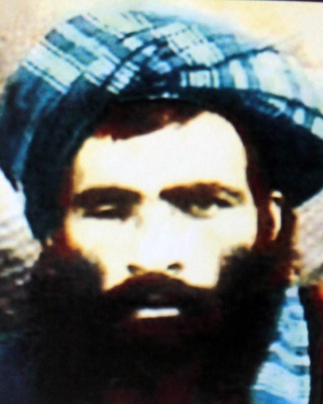Afghan Taliban's deceased leader Mullah Omar.