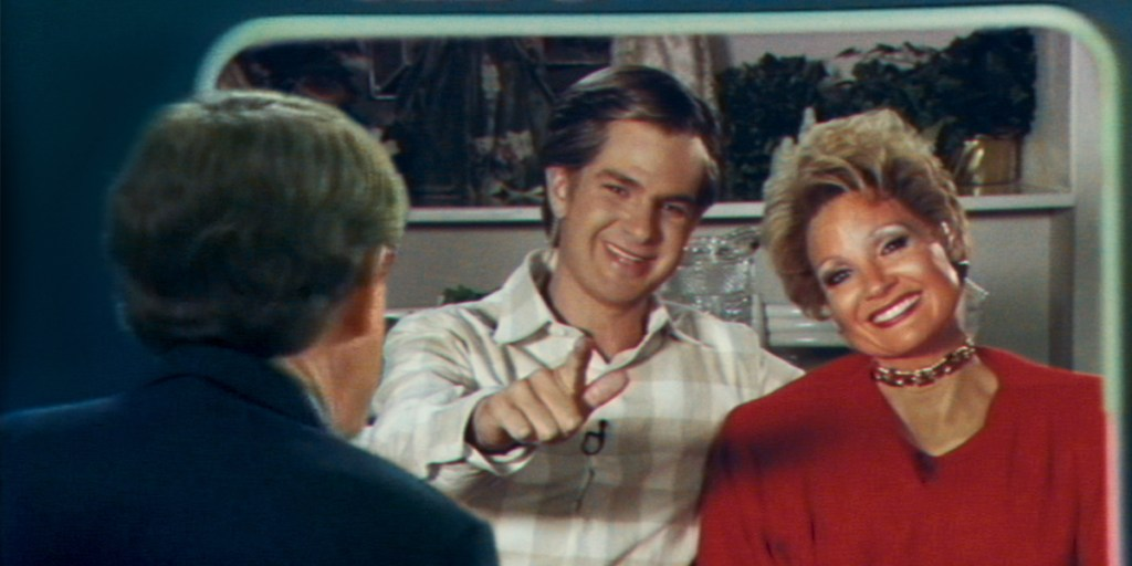 Andrew Garfield and Jessica Chastain take on the singing, preaching roles of televangelists Jim and Tammy Faye Bakker.