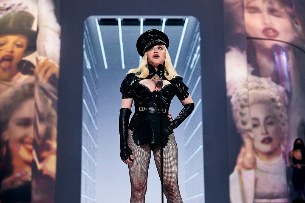 Madonna opened the 2021 VMAs with a salute to MTV.